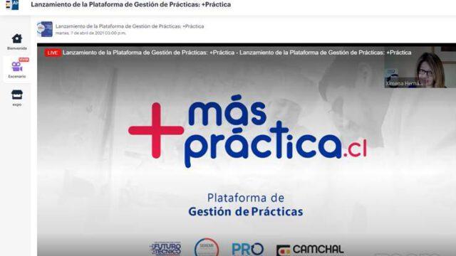 + PRÁCTICA fue presentada oficialmente a liceos técnico profesional y centros de práctica de la región